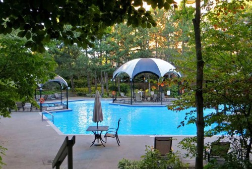Enjoy resort-like surroundings