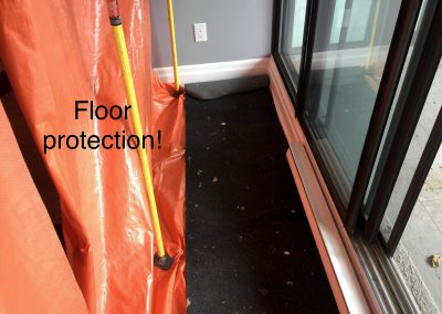 Floor and dust protection